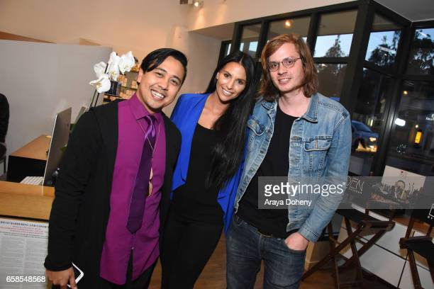 Guests attend Natasha Bure 'Let's Be Real' Los Angeles book launch party at Eden By Eden Sassoon on March 24 2017 in Los Angeles California