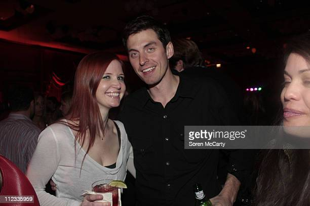 Guests attend Niche Media's Bing's NYE Bash hosted by Haley Jason Binn and Aimee John Oates at Hotel Jerome on January 1 2010 in Aspen Colorado