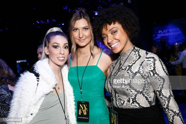 Guests attend NYFW Powered By hiTechMODA on February 08 2020 in New York City
