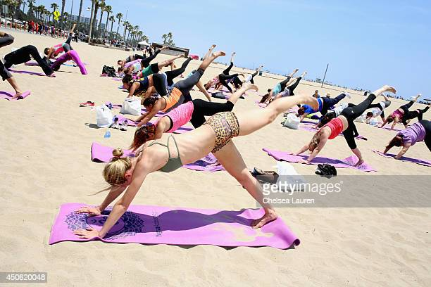 Guests attend OK Body Soul 2014 at The Casa Del Mar Hotel on June 14 2014 in Santa Monica California