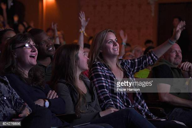 Guests attend Optimizing Your Listing at The Downtown Palace Theatre during Airbnb Open LA Day 2 on November 18 2016 in Los Angeles California