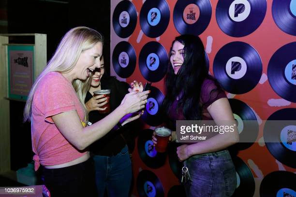 Guests attend Pandora Presents The Stack With Lord Huron And Jess Williamson at Concord Music Hall on September 20 2018 in Chicago Illinois
