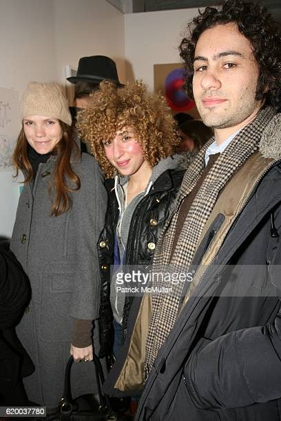 Guests attend PAPERCUT Inaugural Exhibition to Celebrate the Print Making Process at Heist Gallery on December 13 2008 in New York City