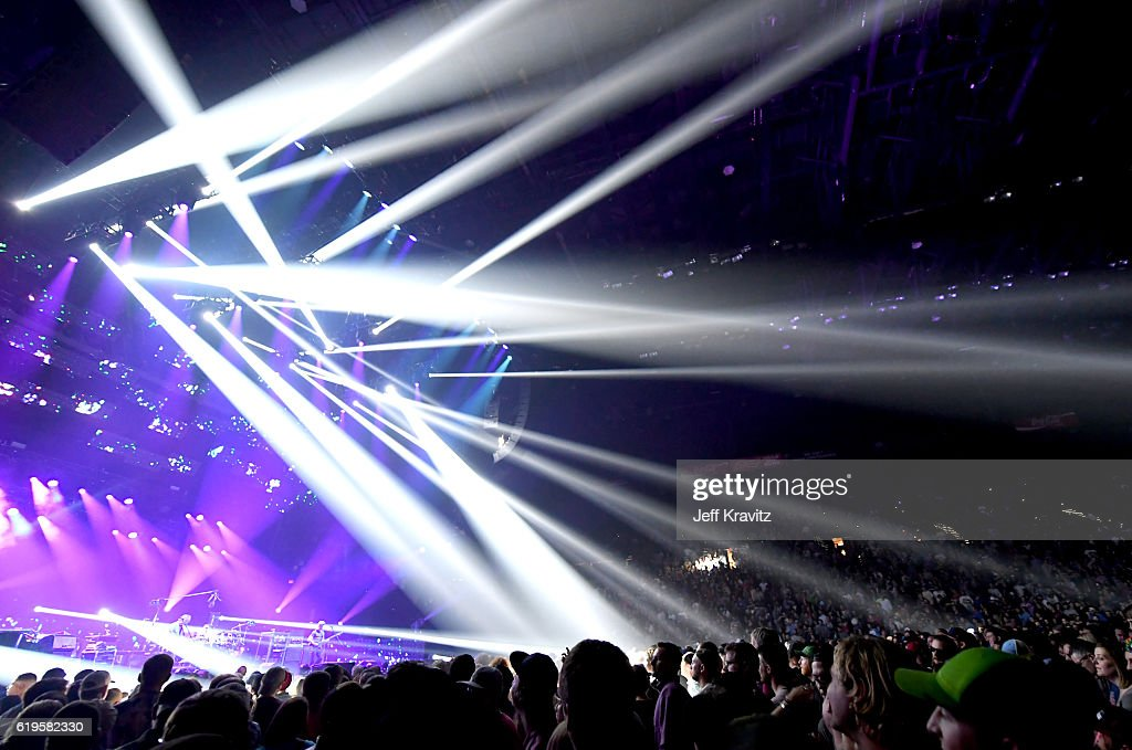 Guests Attend Phish In Concert At MGM Grand Garden Arena On October 28,  2016 In