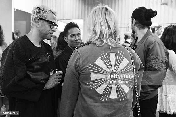 Guests attend Rachel Comey Los Angeles Store Opening on June 15 2016 in Los Angeles California
