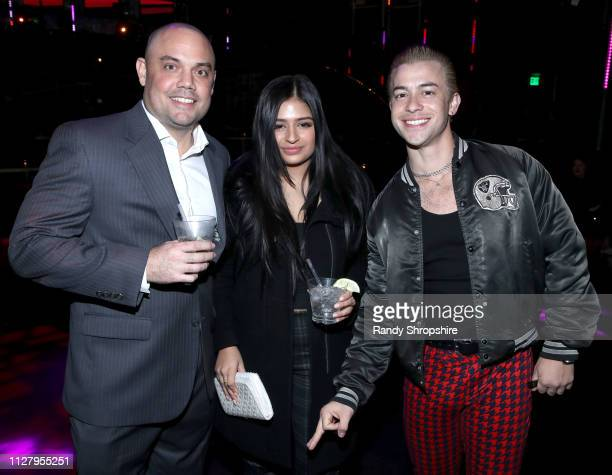 Guests attend Reed Smith Grammy Party at Nightingale Plaza on February 06 2019 in Los Angeles California