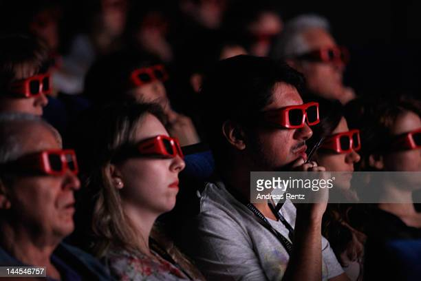 Guests attend Rise of the Guardians QA with Talent and Filmmakers at Palais des Festivals on May 16 2012 in Cannes France