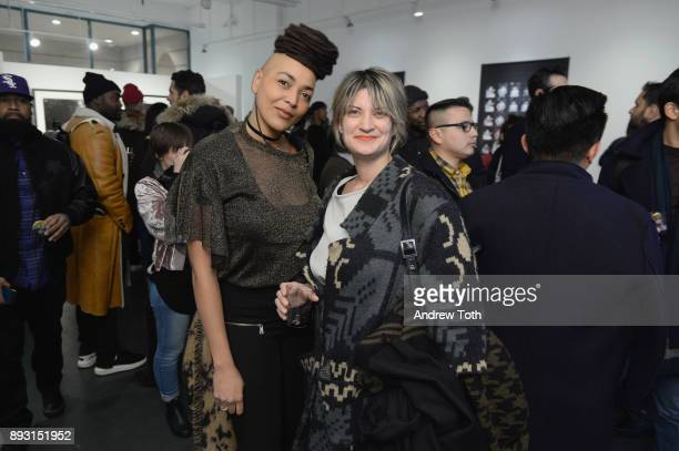 Guests attend Robert Whitman Presents Prince 'Pre Fame' Private Viewing Event Exclusively On Vero on December 14 2017 in New York City