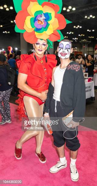 Guests attend RuPauls DragCon NYC 2018 at Jacob K Javits Convention Center Manhattan