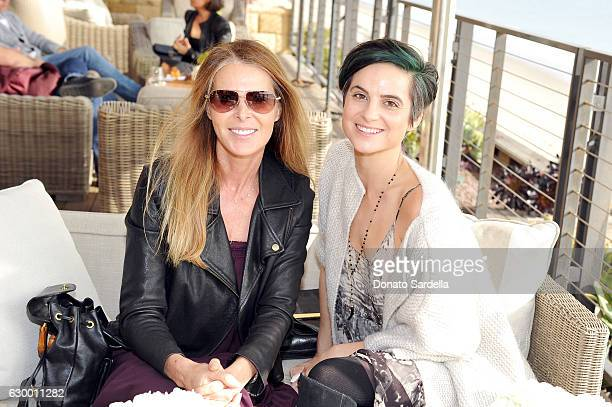 Guests attend Sabine Brouillet's jewelry pop up hosted by Nikita Kahn and Katya Teper at Nobu Malibu on December 14 2016 in Malibu California