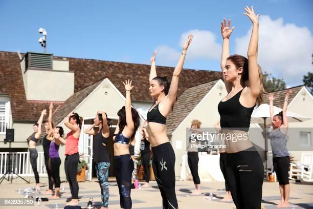 Guests attend Segura Viudas Presents Bubbles Balance on February 22 2017 in Del Mar California