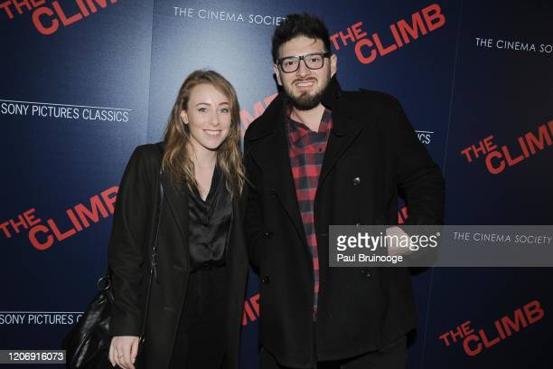 Guests attend Sony Pictures Classics And The Cinema Society Host A Special Screening Of The Climb at iPic Theater on March 12 2020 in New York City
