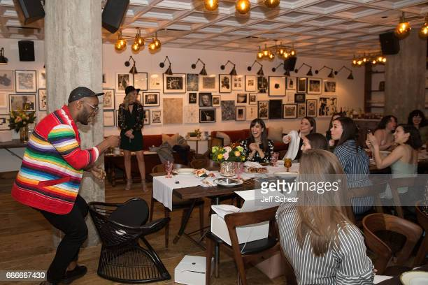 Guests attend Sophia Bush and EBTH Host an Intimate Brunch to Celebrate Chicago's Top Design Tastemakers at Soho House Chicago on April 9, 2017 in...