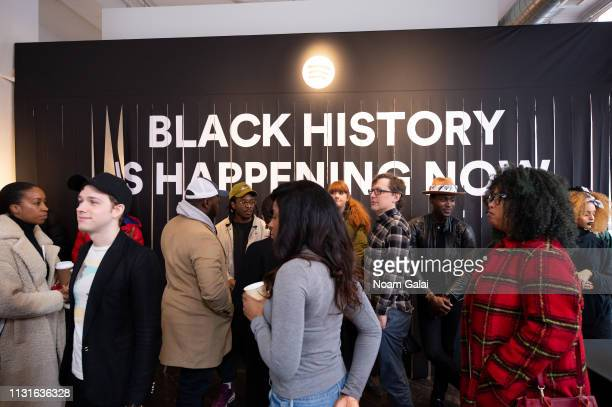 Guests attend Spotify's Black History Is Happening Now on February 23 2019 in New York City