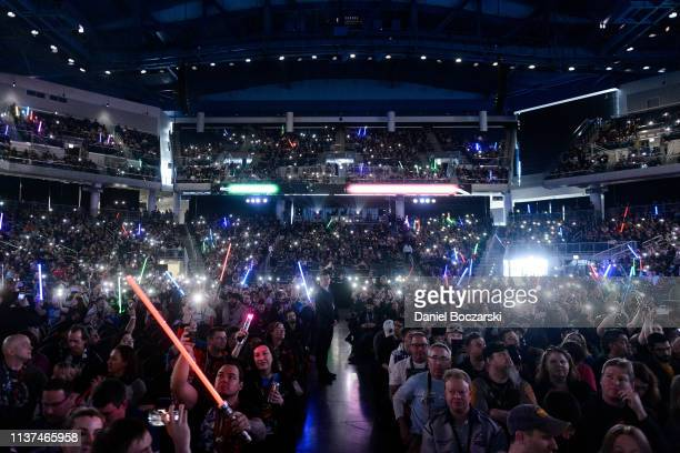 Guests attend Star Wars Celebration at McCormick Place Convention Center on April 15, 2019 in Chicago, Illinois.