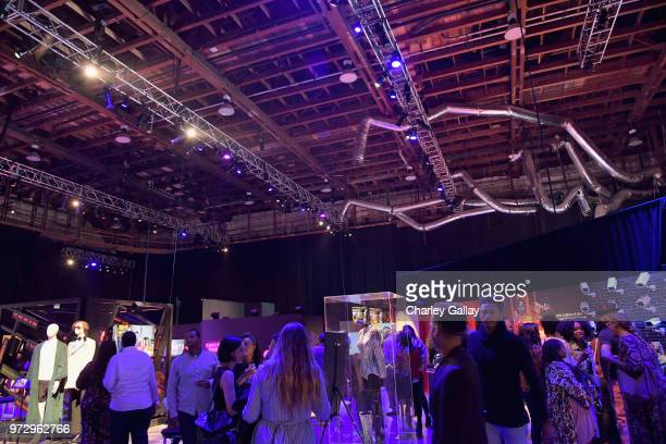 Guests attend Strong Black Lead party during Netflix FYSEE at Raleigh Studios on June 12 2018 in Los Angeles California