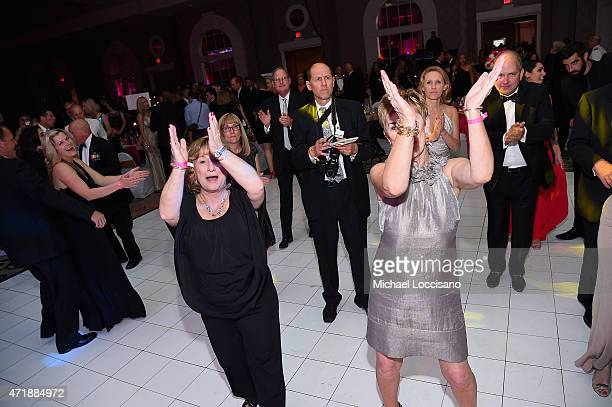 Guests attend the 141st Kentucky Derby Unbridled Eve Gala at Galt House Hotel Suites on May 1 2015 in Louisville Kentucky