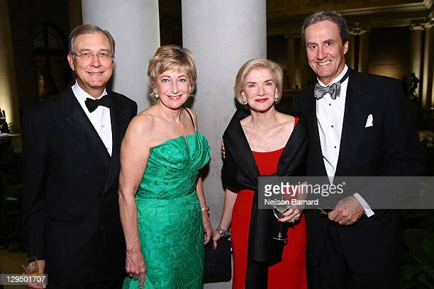 Guests attend the 2011 Frick Collection Autumn Dinner Honoring Anne L Poulet at The Frick Collection on October 17 2011 in New York City
