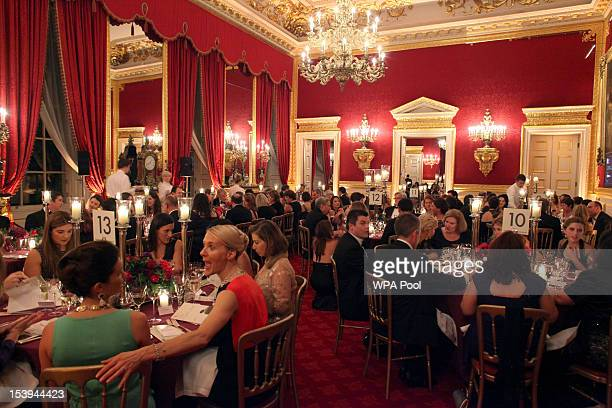 Guests attend the 2012 SkillForce Princes Award Ceremony held at St James's Palace on October 11 2012 in London England