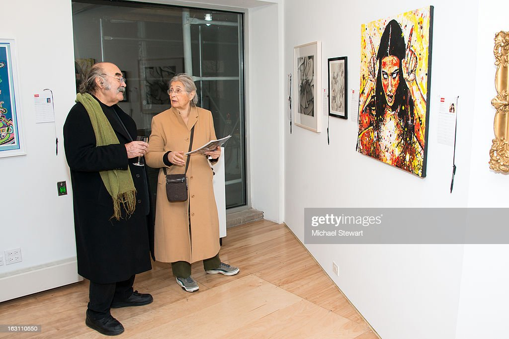 FORM Art Benefit at C24 Gallery on March 4, 2013 in New York City.