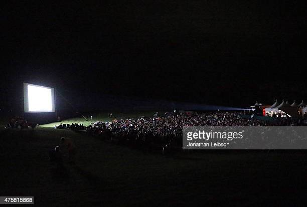 Guests attend the 2015 Maui Film Festival Rising Star Award Presentation during the 2015 Maui Film Festival at Celestial Cinema on June 3 2015 in...