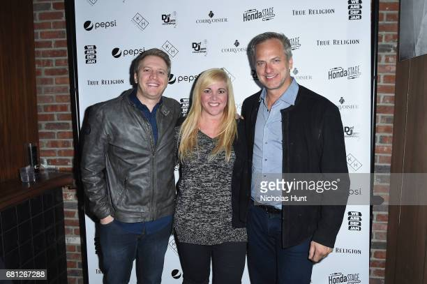 Guests attend the 2017 Def Jam Upfronts presented by Honda Stage Pepsi Courvoisier and True Religion at Kola House NYC on May 9 2017 in New York City
