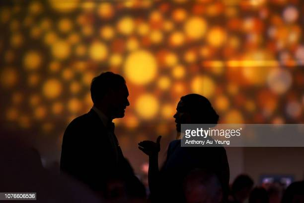 Guests attend the 2018 New Zealand Olympic Committee Gala at the Sky City Convention Centre on December 03 2018 in Auckland New Zealand