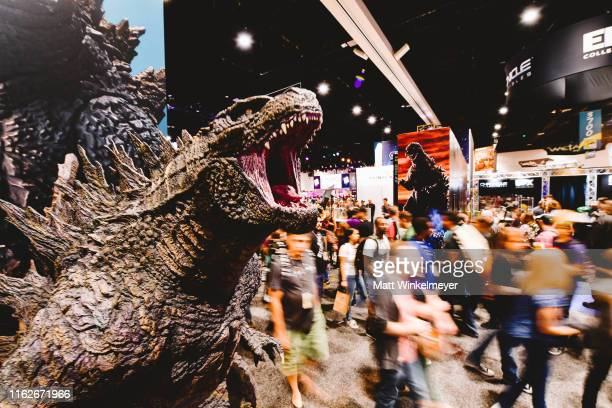Guests attend the 2019 Comic-Con International preview Night at San Diego Convention Center on July 17, 2019 in San Diego, California.