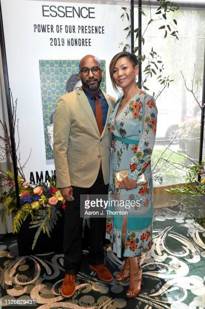 Guests attend the 2019 Essence Black Women in Hollywood Awards Luncheon at Regent Beverly Wilshire Hotel on February 21 2019 in Los Angeles California