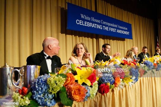 Guests attend the 2019 White House Correspondents' Association Dinner at Washington Hilton on April 27 2019 in Washington DC