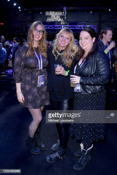 Guests attend the 2020 Sundance Film Festival Awards Night Party at Basin Recreation Field House on February 01 2020 in Park City Utah