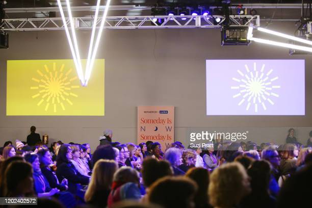 Guests attend the 2020 Women at Sundance Celebration hosted by Sundance Institute and Refinery29, Presented by LUNA at Juniper at Newpark on January...