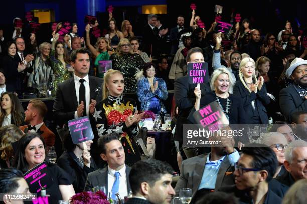 Guests attend The 21st CDGA at The Beverly Hilton Hotel on February 19 2019 in Beverly Hills California