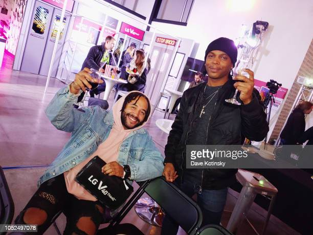 Guests attend the 5 Boroughs 5 Nights 5 Views with the LG V40 ThinQ on Day 4 at Dobbin St on October 18 2018 in Brooklyn New York