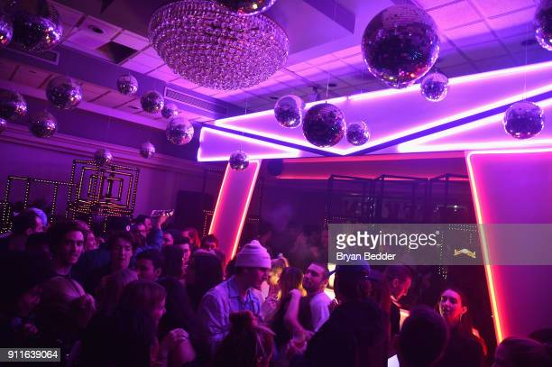 Guests attend the 60th Annual Grammy Awards after party hosted by Benny Blanco and Diplo with SVEDKA Vodka and Interscope Records on January 29 2018...
