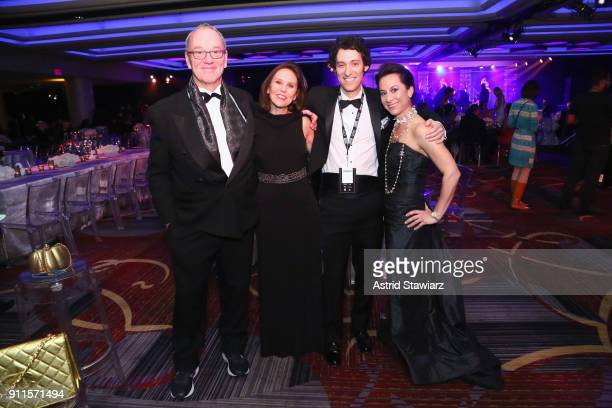 Guests attend the 60th Annual GRAMMY Awards Celebration at Marriott Marquis Hotel on January 28 2018 in New York City
