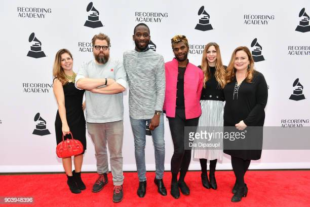 Guests attend the 60th GRAMMY Nominee Luncheon on January 11 2018 in New York City