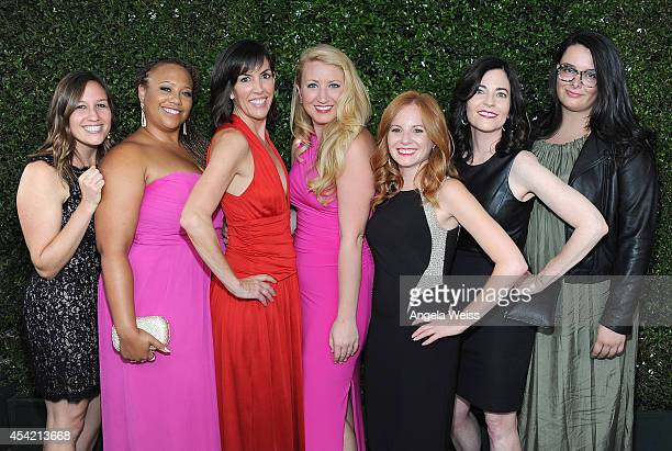 CAA guests attend the 66th Annual Primetime Emmy Awards held at the Nokia Theatre LA Live on August 25 2014 in Los Angeles California