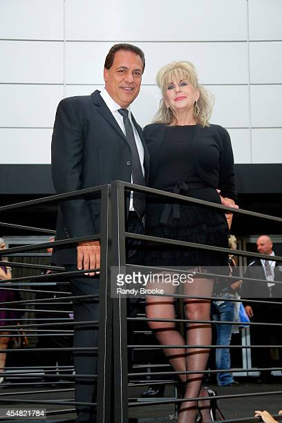 Guests attend the Academy Of Art University Spring 2015 Collections during MercedesBenz Fashion Week Spring 2015 at The Theatre at Lincoln Center on...