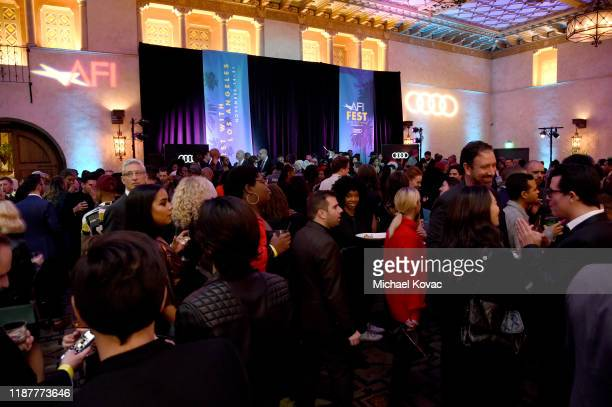 """Guests attend the after party for the Opening Night Gala premiere of """"Queen & Slim"""" at AFI FEST 2019 Presented By Audi at the TCL Chinese Theatre on..."""