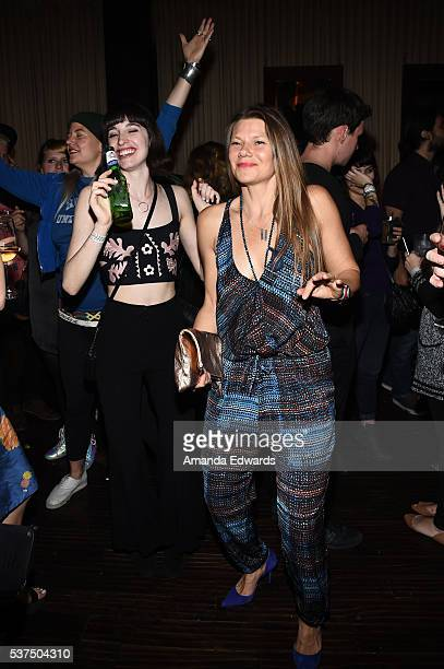 """Guests attend the after party for the premiere of """"Lowriders"""" during opening night of the 2016 Los Angeles Film Festival at Beso on June 1, 2016 in..."""