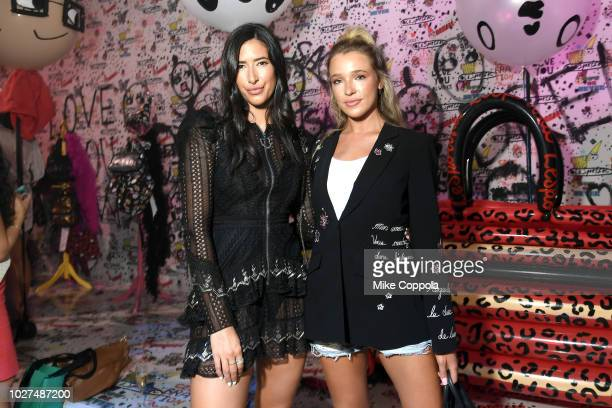 Guests attend the Alber Elbaz X LeSportsac New York Fashion Week Party at Gallery I at Spring Studios on September 5 2018 in New York City