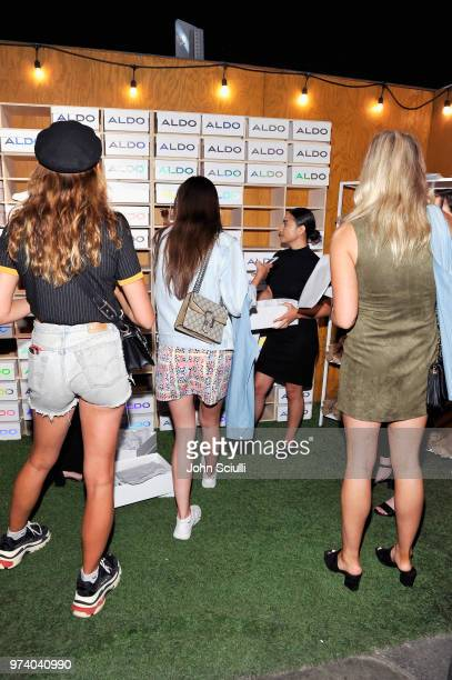 Guests attend the Aldo LA Nights 2018 at The Rose Room on June 13 2018 in Venice California