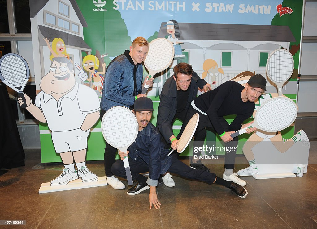 Guests attend the American Dad Sneaker Launch at the Adidas Originals Store on October 18, 2014 in New York City. 25167_001_0193.JPG