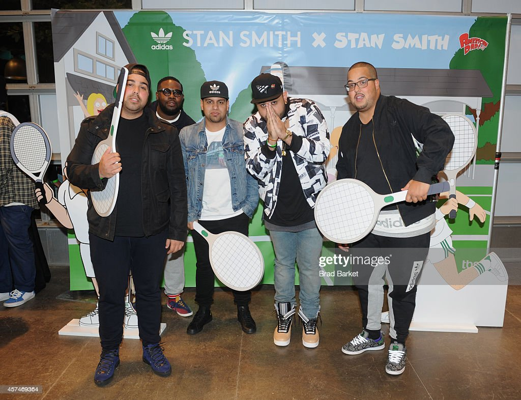 Guests attend the American Dad Sneaker Launch at the Adidas Originals Store on October 18, 2014 in New York City. 25167_001_0206.JPG