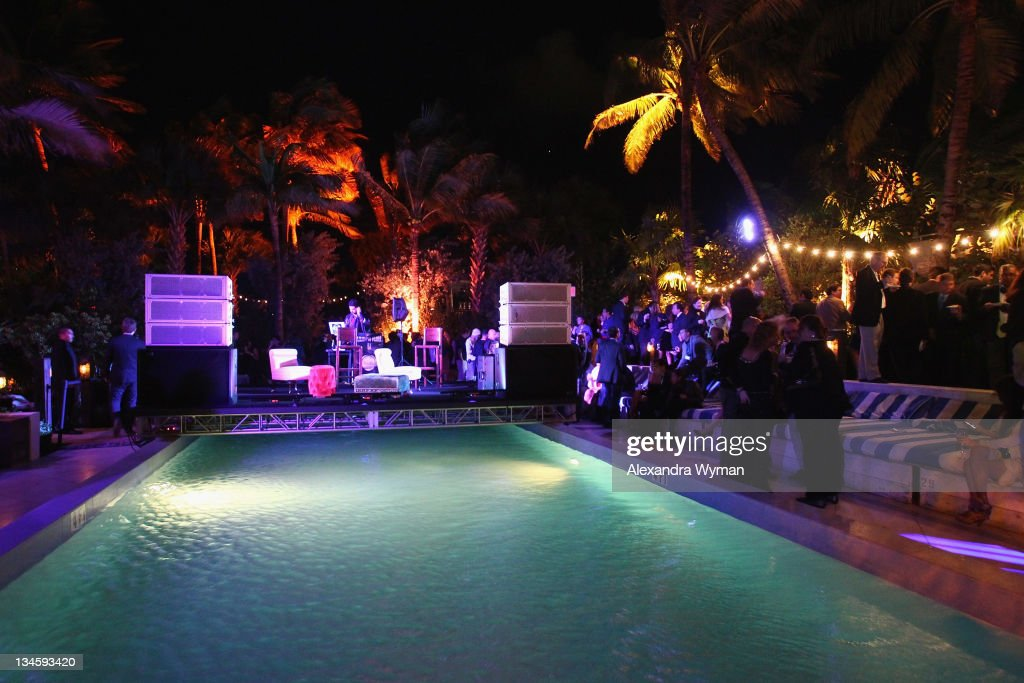 Guests Attend The Art Nexus After Party At Soho Beach House On December 2 2011