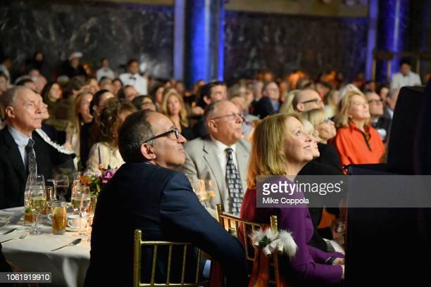Guests attend the ASPCA Hosts 2018 Humane Awards Luncheon at Cipriani 42nd Street on November 15 2018 in New York City