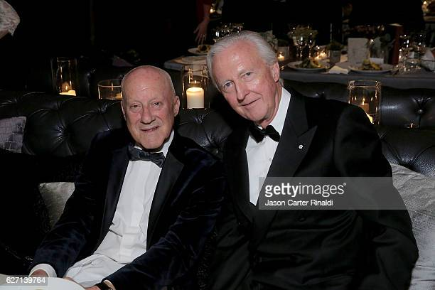 Guests attend The Berggruen Prize Gala Honoring Philosopher Charles Taylor at New York Public Library Astor Hall on December 1 2016 in New York City