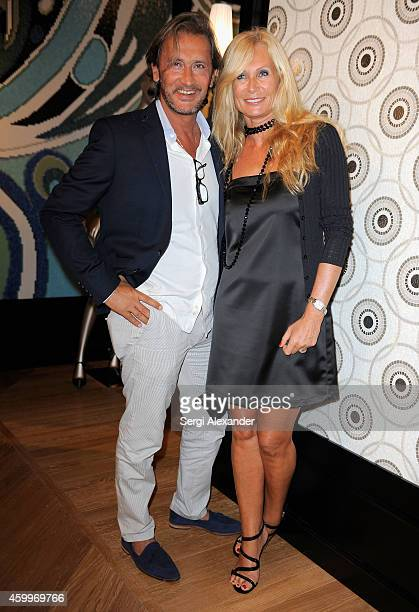 Guests attend the BISAZZA Wears EMILIO PUCCI Cocktail Reception for Miami Art Week on December 4 2014 in Miami Florida