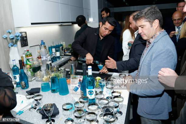 Guests attend the Blu Perfer Blue Brut Launch Party for The 2018 8th annual Better World Awards on November 15 2017 in New York City